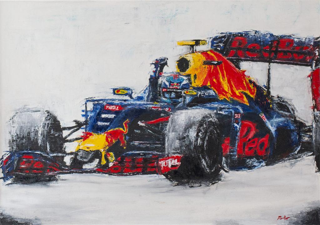 Max Verstappen Painting